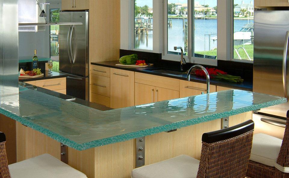 Cocina y muebles c mo dise ar cocinas modernas cocina - Cristal para cocina ...