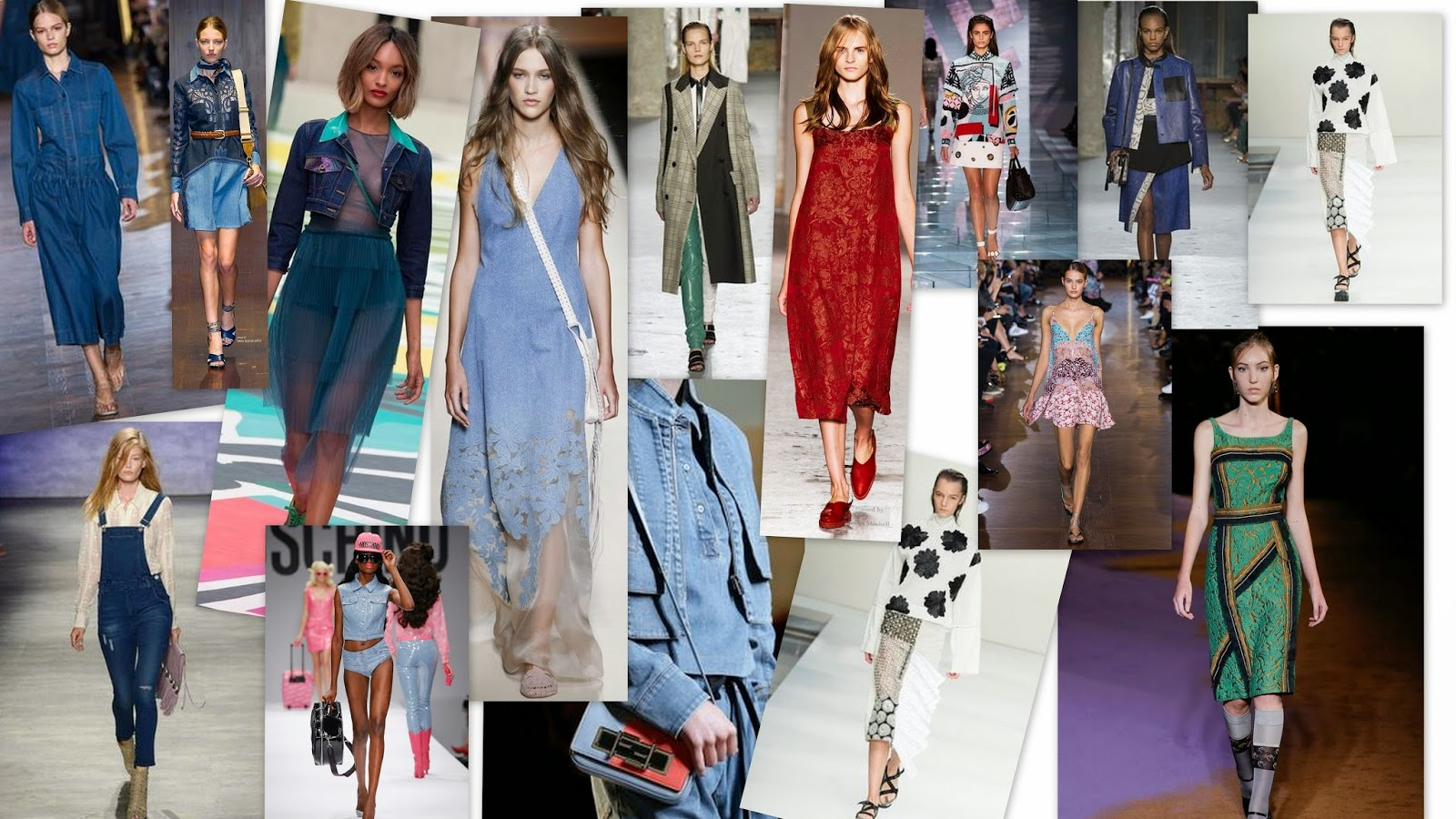 Spring/Summer Womenswear Catwalk Trend Report 2015