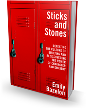 "Book cover: ""Sticks and Stones"" by Emily Bazelon"