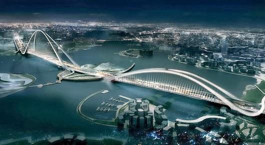 Jembatan pekerjaan Teknik Sipil