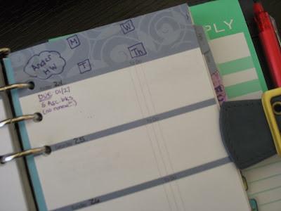 planner, school, organize