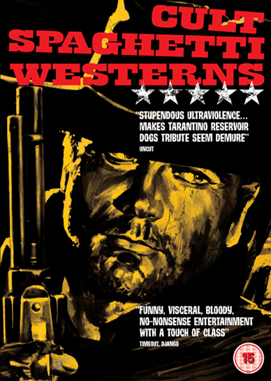 Cult Spaghetti Westerns Uk Dvd Box Set Trailer Stills The