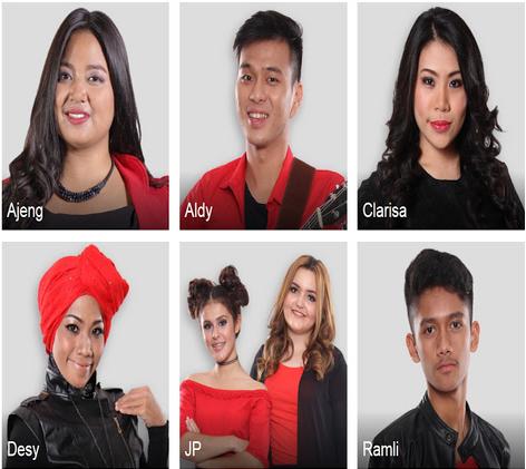 Judul lagu yang di nyayikan dan di bawakan peserta x factor indonesia 7 Agustsus 2015