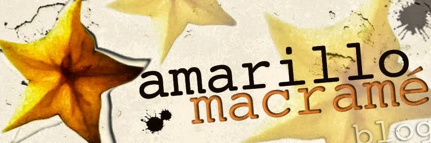 Amarillo macramé Zaragoza