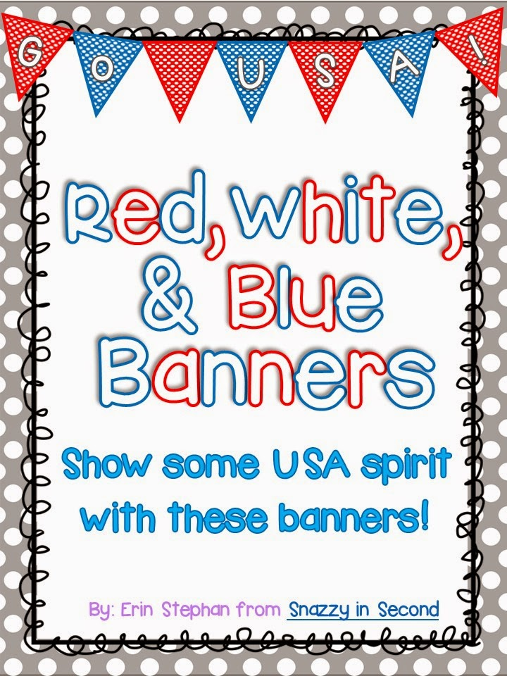 http://www.teacherspayteachers.com/Product/Red-White-and-Blue-Banner-FREEBIE-1298527
