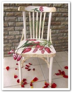 Декор стула видео