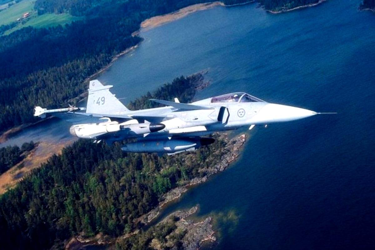 Saab JAS 39 Gripen (Foto 1)