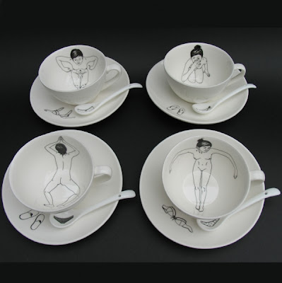 Bathing Girls Tea Set by designer Esther Horchner
