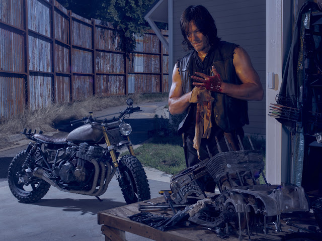 Norman Reedus como Daryl Dixon – The Walking Dead _ temporada 6, Gallery – Photo Credit: Frank Ockenfels 3/AMC