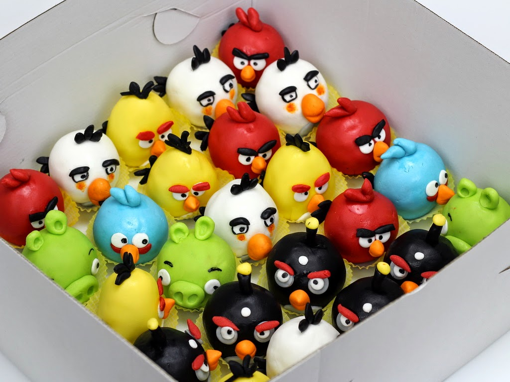 cake pops angry birds london