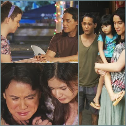 Arjo Atayde, Felix Roco and Eliza Pineda in MMK