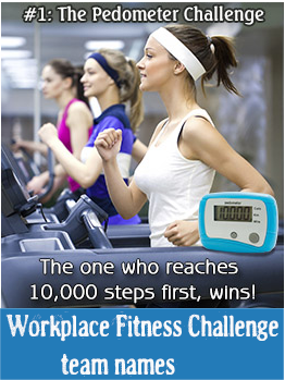 Workplace fitness challenge team names