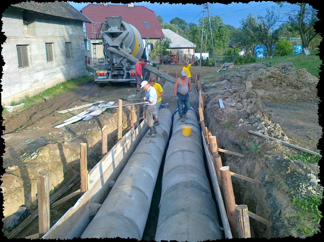 drenaż, odwodnienia liniowe małopolskie - Andrychów