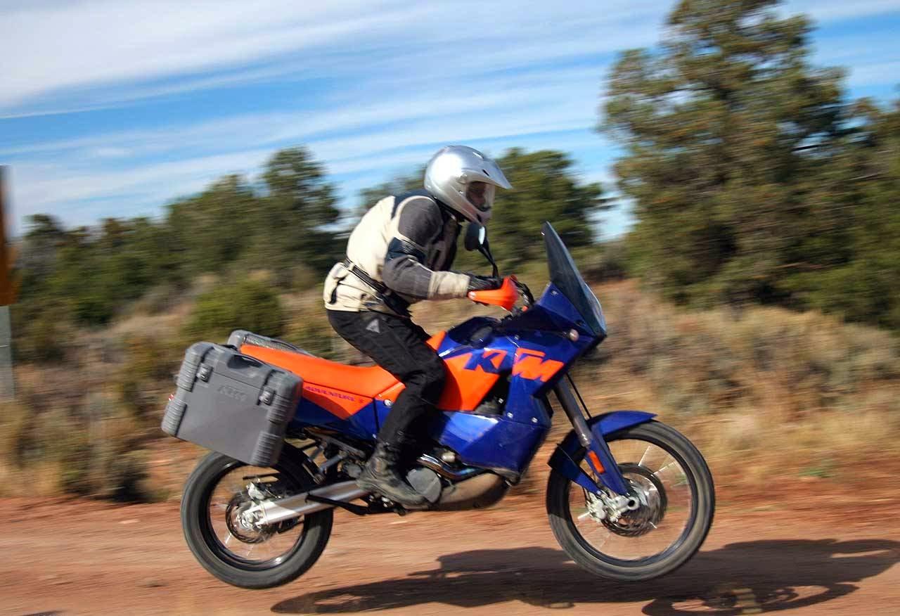 KTM 950 Adventure Motorcycels Photos