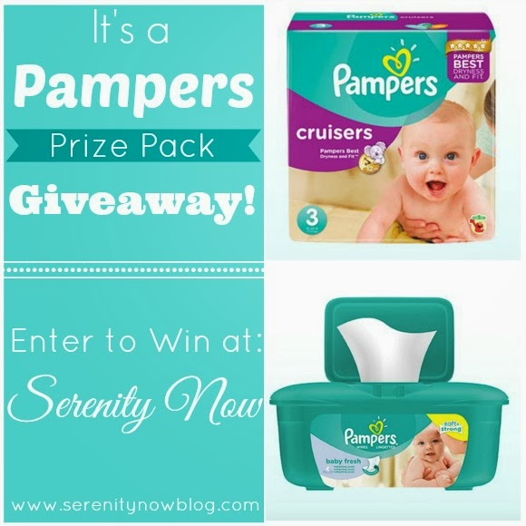 Pampers Prize Pack Giveaway at Serenity Now!