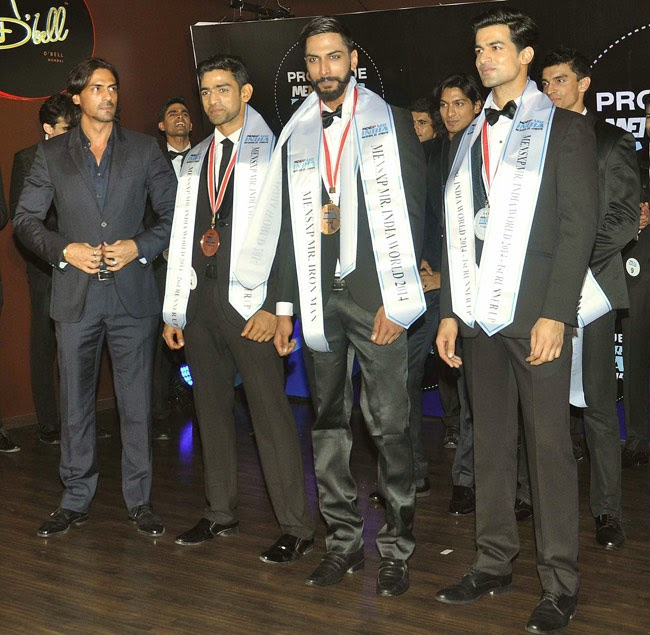 MensXP Mister India World 2014 winner Prateik Jain