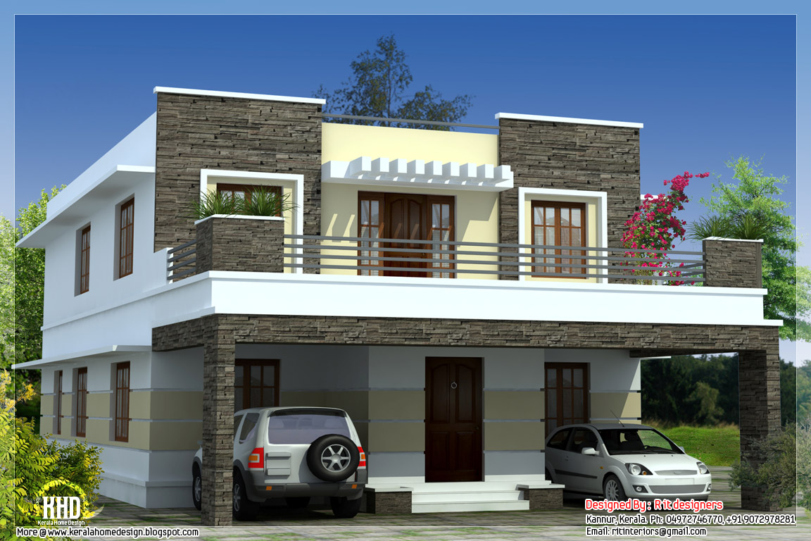Simple Front Elevation Of House : Home front elevation design simple of india joy