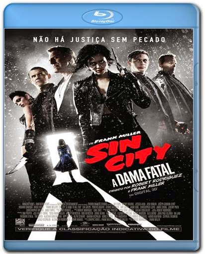 Baixar Sin City A Dama Fatal AVI BDRip Dual Áudio + RMVB Dublado + Bluray 720p e 1080p Torrent