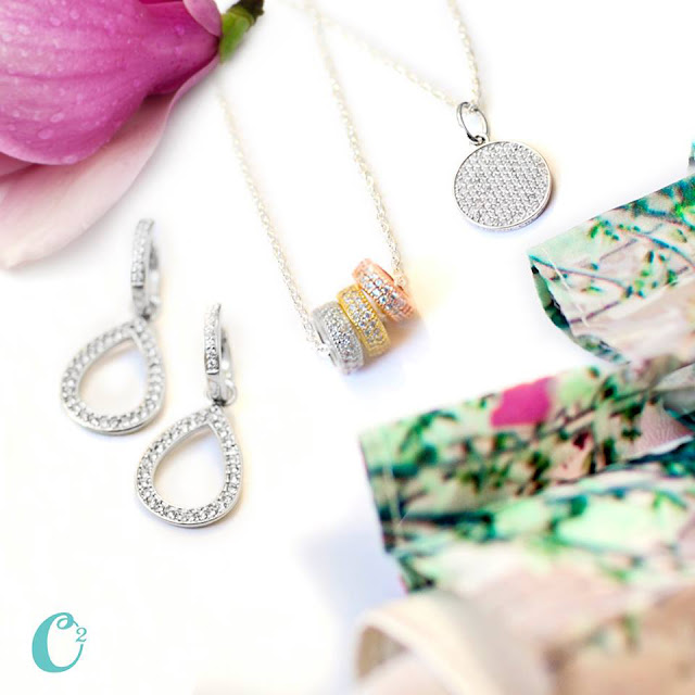 Origami Owl Pavé Jewelry Collection available at StoriedCharms.com