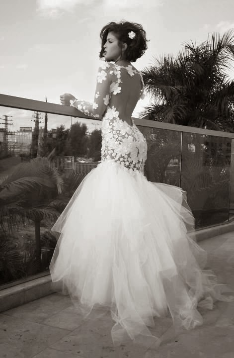 Dahlia Weddings: The Back says it all..... Wedding gowns with ...