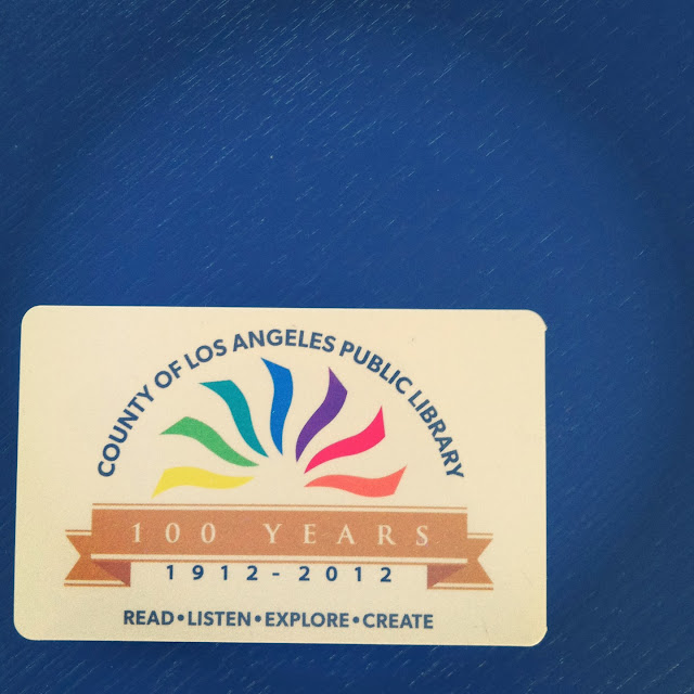 public library card Los Angeles