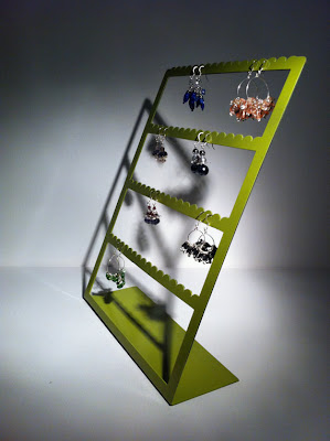 metal - steel - earring rack