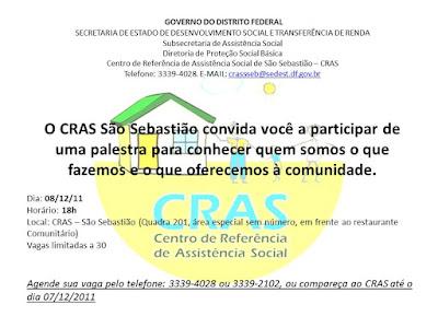 Palestra CRASS - São Sebastião