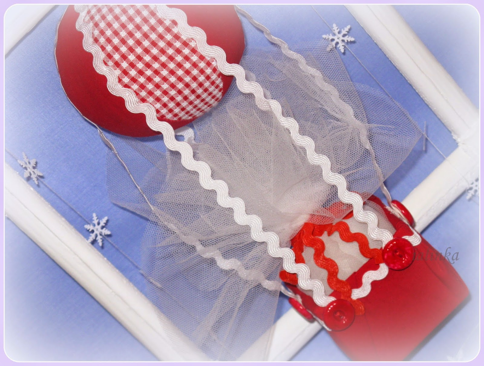 воздушный  шар  декор  на  елку  украшение  на елку  новый  год