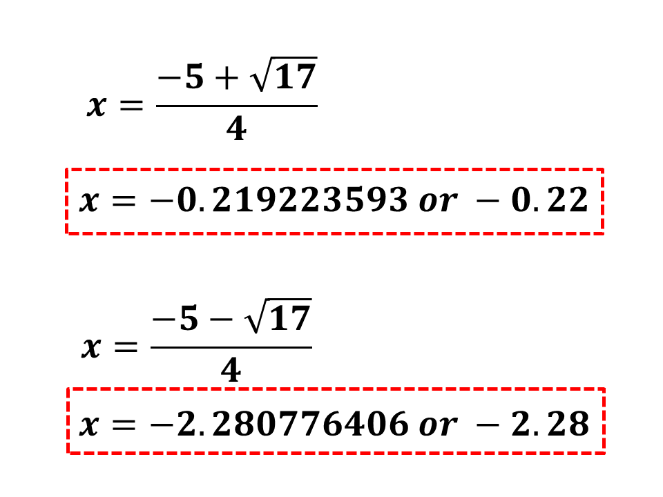 solution of quadratic equation pdf