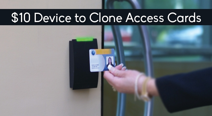 This 10 Device Can Clone Rfid Equipped Access Cards Easily