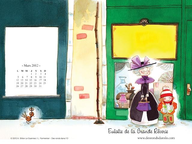 Fond d'écran mars 2012 - Eulalie de la Grande Rêverie n°3 (1600x1200)