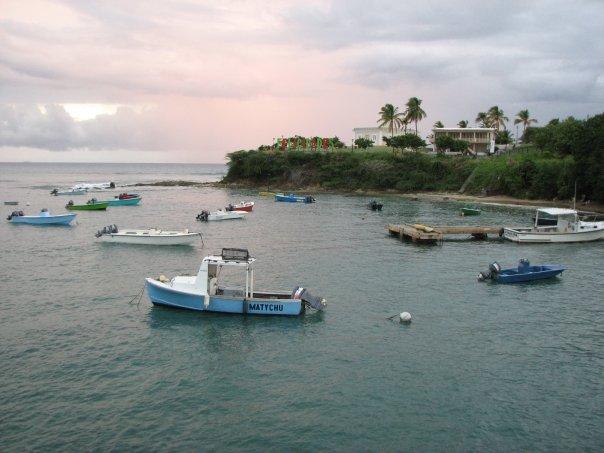 Fajardo Salida De Ferry Hacia Vieques Puerto Rico