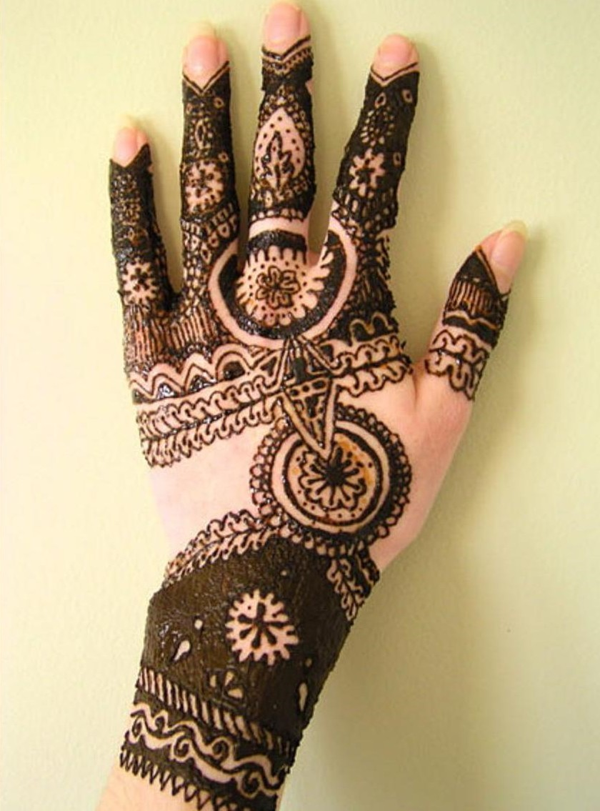 Mehndi Designs On : Be jaan fashion arabic mehndi designs for hand