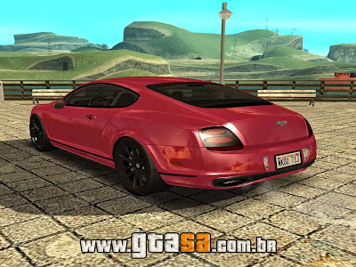 Bentley Continental SuperSports 2010 para GTA San Andreas