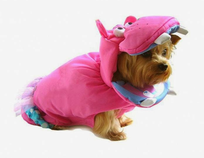 hippo dog costume