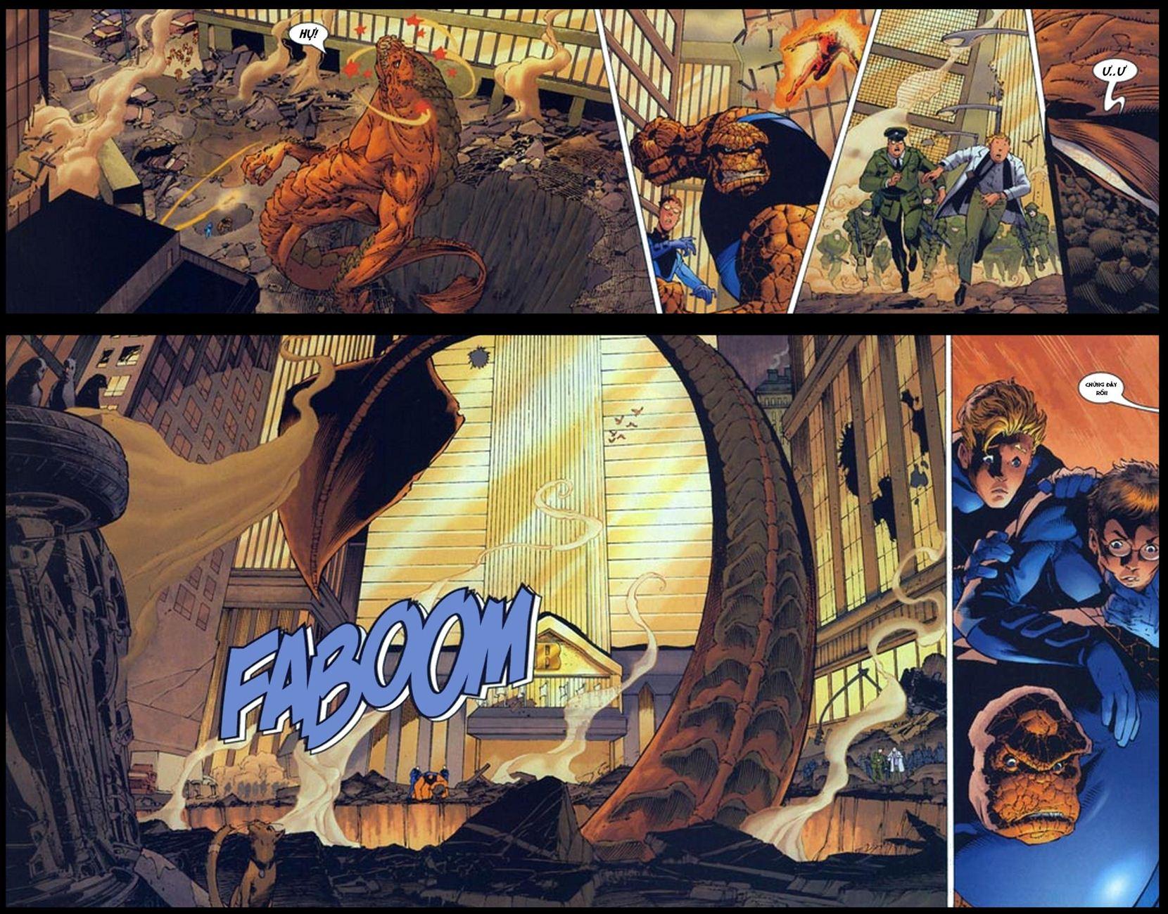 Ultimate Fantastic Four chap 5 - Trang 12