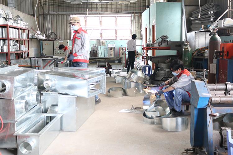 Khu vực sản xuất phụ kiện