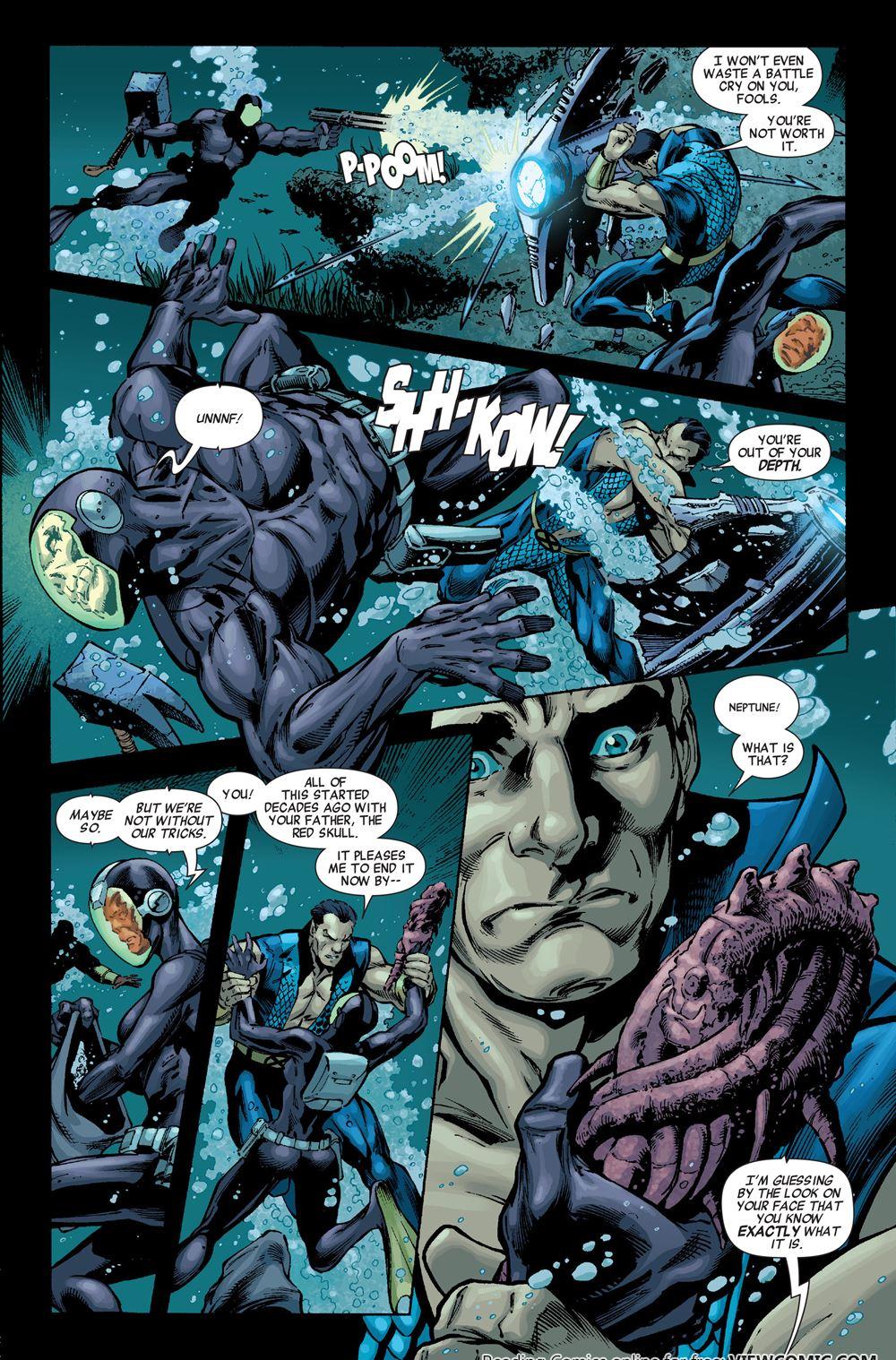Prologue du gros crossover marvel en 2011