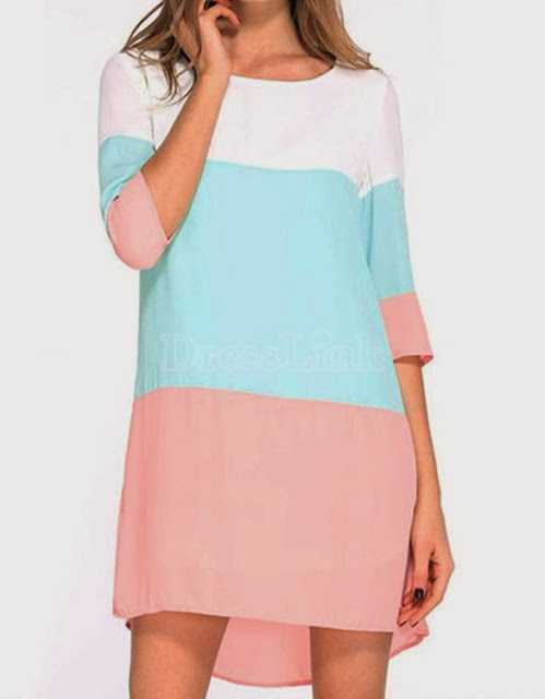 http://es.dresslink.com/stylish-lady-womens-casual-elegant-patchwork-oneck-medium-sleeve-loose-dress-p-22212.html