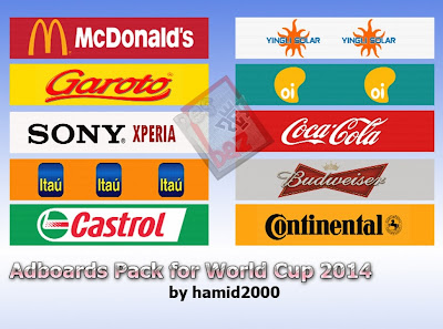 PES 2014 Adboards for World Cup 2014 by hamid 2000