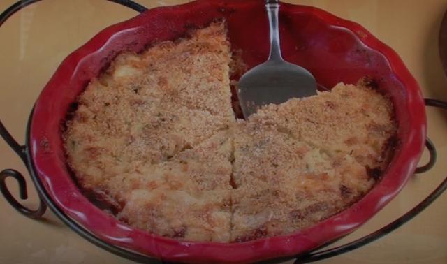 Chat 'n Dish Tortini Di Patate or Potato Tart