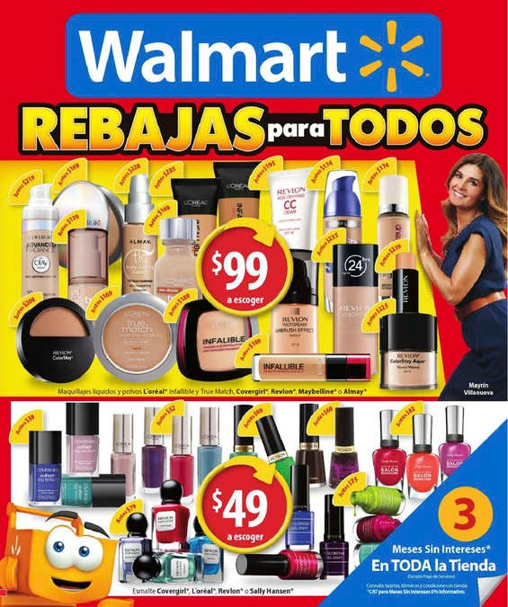 Catálogos Folletos México: Folleto Walmart Rebajas para