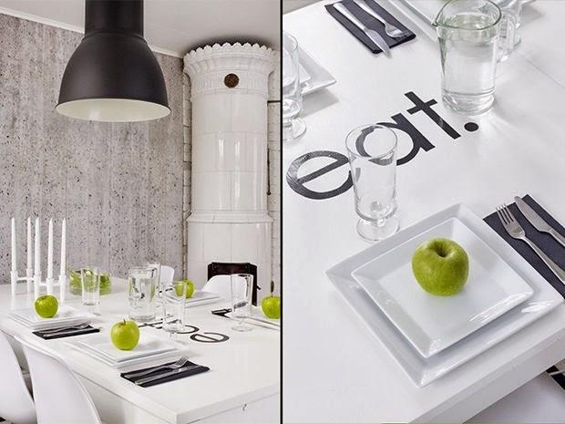 Stylish apartment in black and white / Štýlový byt v čierno - bielom