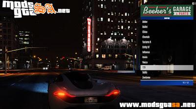 V - Mod Menyoo para GTA V PC