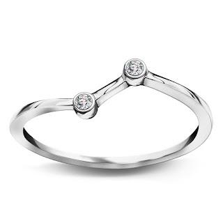 YES jubiler srebrny pierścionek kolekcja Zodiak co kupić na prezent świąteczny biżuteria