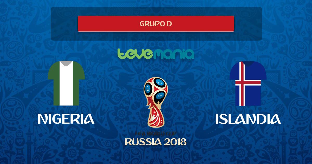 Nigeria ganó 2 a 0 a Islandia y la Argentina celebra la victoria