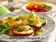 Paprikové volské oká - recept