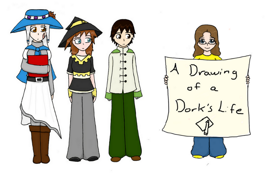 A Drawing of a Dork's Life