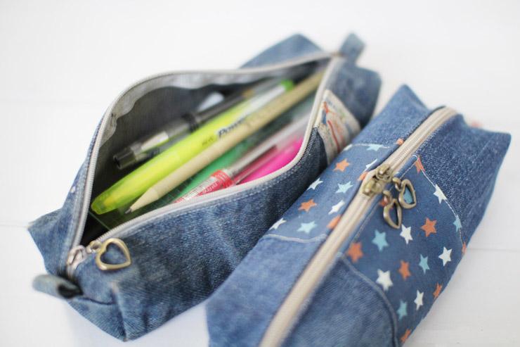 Как из старых джинсов сшить косметичку выкройки