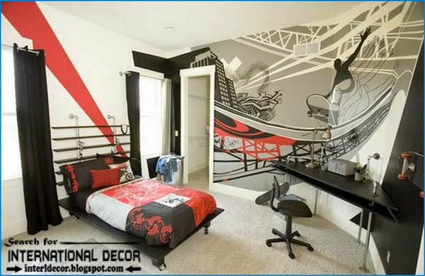 teen boys room decor,cool boys room